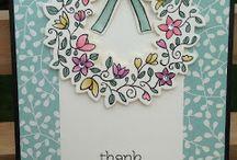 Wreath cards