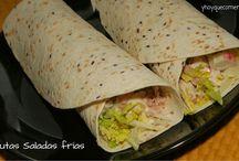 Recetas de cenas / Recetas de cocina fácil, recetas de cenas rápidas y para toda la familia. Recetas de cenas informales, frías y calientes.