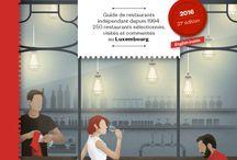 Explorator 2016 / Guide des restaurants à Luxembourg