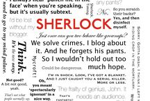 """Sherlock """"I don't have friends. I've just got ONE. """" / Total homage to the BBC's Sherlock Holmes"""