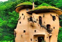 Casas de adobe - Adobe houses