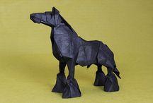 Horses - paper models