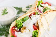 Greek eating / Greek food