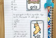 Skolearbeid/aktiviteter for barn