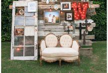 Wedding photo decor