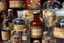 Vintage Apothecary and Medicines