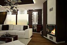 Moderné interiéry