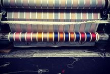 What we make / Images of the design, dyeing and manufacturing processes here in Sudbury.