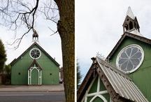 Churches, Barns and Farm Land
