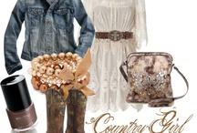 lace boho cowgirl
