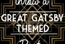 Party themes - Great Gatsby
