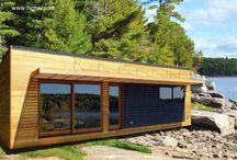 vagon wood house