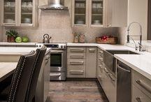 Troon Transformation / High End Interior Design, Interior Design, Luxury Homes, Modern, Construction Remodel, Kitchen Remodel, Modern Kitchen, Wood Flooring, Kitchen, Bathroom Remodel, Modern Bathroom, Sliding Barn Door