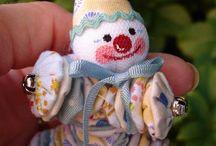 Bonecas feitas em Foxico