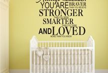 "Stronger, Smarter & Loved ""Wall Art"" by Happi Home / Wall Art by Happi Home. Purchase yours today! Visit:https://happihome.com.au/store/#!/STRONGER-SMARTER-&-LOVED/p/71548398/category=20476860 Measures approximately:  640mm x 550mm Available Colours:  Black, White, Red & Turquoise  Made with Premium Cast Avery Wall Vinyl. Comes with easy to follow step by step instructions. Application tape applied to allow for easy installation."