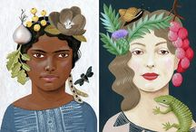Women in Illustration and Art / Capturing amazing illustrations, photographs and art expressing the shear awesomeness that is the female body, mind and soul..and lips and hair and curves and smile...