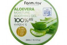 Aloe Vera Pflegeprodukte / Aloe Vera Kosmetik aus Korea für die tägliche Hautpflege