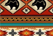 Beautiful Fabric With Native Designs