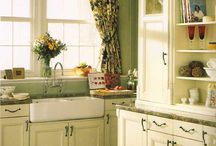 The Heartbeat of the Home / Beautifully decorated kitchens and creative storage ideas / by Beth Fava