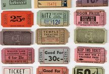 Old Vintage Tickets