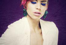 Couture des Fleures Vintage / Hair, fashion, flowers, colors, photography, inspiration, passion, visagie