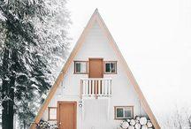cabin / exterior