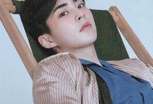 "Kim Min Seok ""Xiumin""Exo"