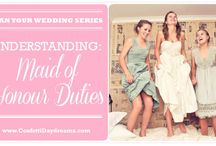 maid of honour duities