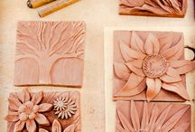 Pottery tiles
