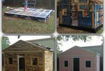 pallet playhouses