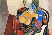 Picasso - 1881 a 1973 - Cubismo