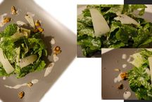Εστιατόριο Κάππος Έτσι / Μαρούλι με παξιμάδι,καρύδια και σκορδάτο ξινόγαλο.