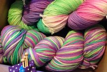 Yummy yarniness / Yarn porn for crocheters and knitters to drool over