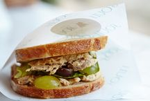 Sandwiches / Already gaining cult status, our sandwiches are showing the rest  of London cafes how it's done...