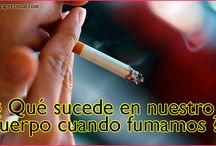 QUE LE SUCEDE A NUESTRO CUERPO CUANDO FUMAMOS.
