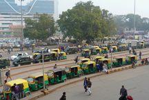 New Delhi, India / streets of Delhi, India / Calles de Delhi, India