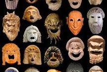 maschere greche