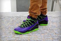 Nike Jordan Prime Flight 'Black/Club Pink/Court Purple' 616846 018