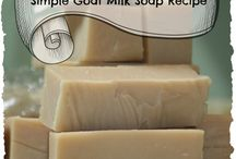 Homemade soaps, scrubs and butters