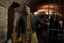 Backstage at Moschino Uomo AW 2016 Fashion show / Backstage at Moschino Uomo Autumn/Winter 2016 Fashion Show - See more on www.moschino.com!