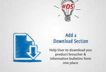 52 Ideas / 52 Ideas to #PepUpYourWebsite. Enjoy our weekly posts to improve your website!! #PixelPower