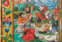 aspetti di vita quotidiana nell'arte del medioevo / Le immagini del XIV e XV secolo come documenti visivi sulle abitudini casalinghe e professionali dell'epoca