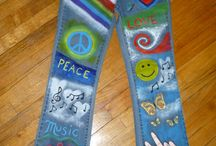 jeans peace and love