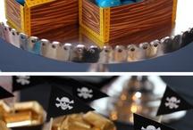 Пиратский день рождения вечеринка