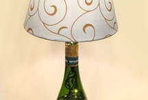 wine bottle projects / by Jina Smith