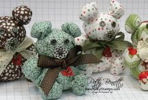 Fabric creations | Sewing Tips / Fun Fabric and Sewing Projects, organizing tips, Crafts using fabric, felt and textiles.  / by Patty Bennett