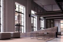 Public interior spaces