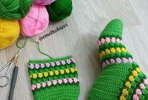 medias d crochet
