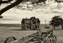 OLD and Very Creepy Places. / by Betty Rainey
