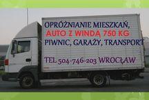Transport Wrocław, tel 504-746-203, przeprowadzki Wrocław , samochód z windą, duże przeprowadzki / Usługi transportowe , tel 504-746-203,, samochód kontener z windą o udźwigu 750 kg. Przewóz mebli meblowozem, meblowóz Wrocław transporty mebli, usługa przeprowadzki Wrocław, wywóz i utylizacja mebli Wrocław, przewożenie mebli we Wrocławiu. http://www.omegaplus.home.pl/transportwroclaw/